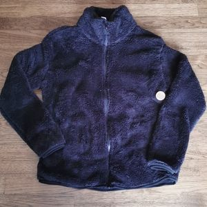 Pink Victoria's Secret Black Teddy Bear Jacket NWT